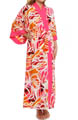 Natori Sleepwear Zelda Printed Long Robe W74002