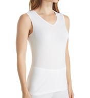 Cuddl Duds Softwear Lace Edge V-Neck Tank 8217535