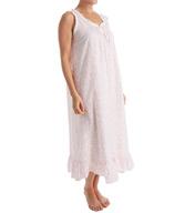 Miss Elaine Woven Plisse Long Gown 529716