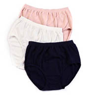 Jockey Comfies Micro Classic Fit Brief Panties - 3 Pack 3328